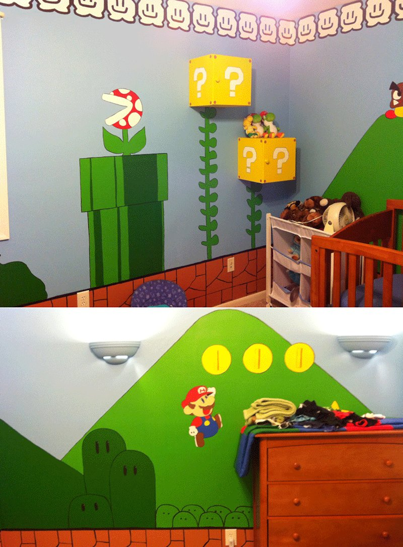 Best 10 Awesome Video Game Themed Bedrooms Room Bath With Pictures