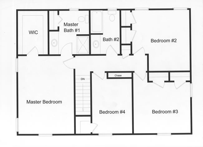 Best 4 Bedroom Floor Plans Monmouth County Ocean County New With Pictures
