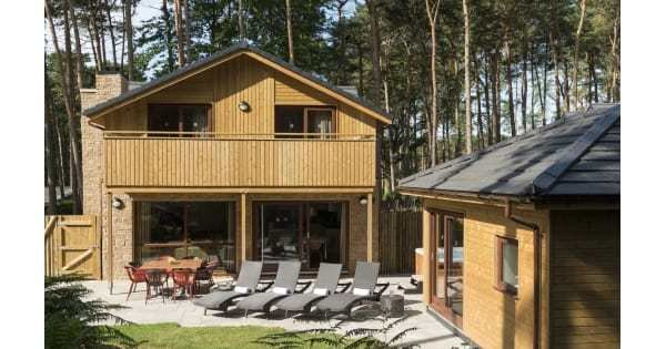 Best Four Bedroom Exclusive Lodge Center Parcs With Pictures