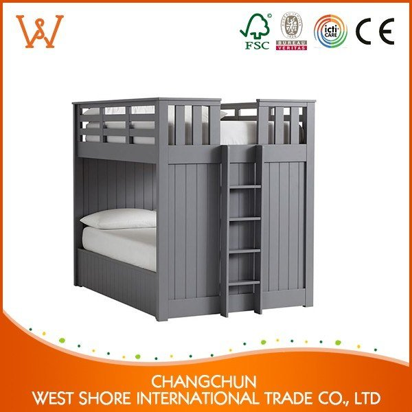 Best Manufacturer Bedroom Parts Solid Wood Furniture Child Bed With Pictures