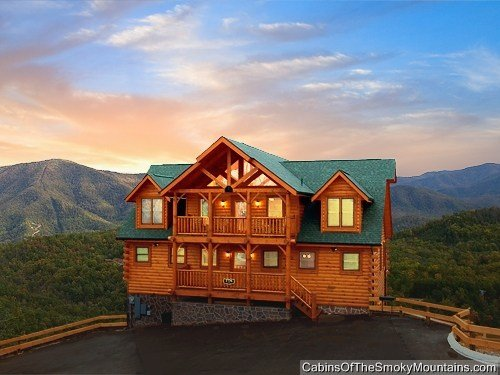 Best Pigeon Forge Cabin Greenbriar Grace 5 Bedroom Sleeps 14 With Pictures
