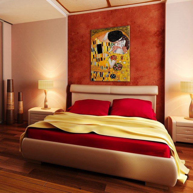 Best Oil Paintings For Bedrooms Modern Bedroom Wichita With Pictures