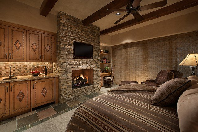Best Southwest Contemporary Southwestern Bedroom Phoenix With Pictures