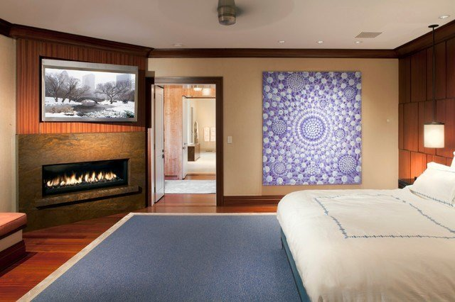 Best Bedroom With Tv And Gas Fireplace With Pictures