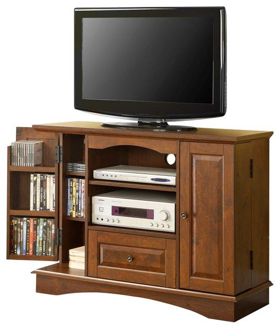 Best Walker Edison 42 Inch Bedroom Tv Console With Media With Pictures