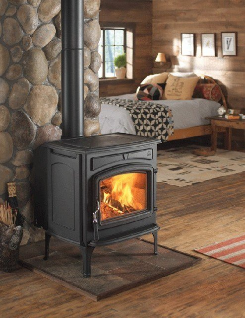 Best Jotul S F 55 Carrabassett Wood Stove Traditional With Pictures