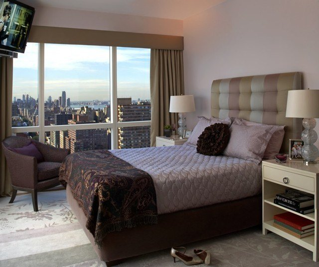 Best Upper West Side Bedroom Modern Bedroom New York By Evelyn Benatar New York Interior Design With Pictures