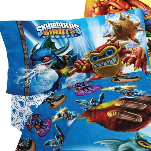 Best Skylanders Spyro Adventure Sky Friends 3 Piece Twin Bed With Pictures