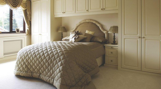 Best Traditional Cream Modular Bedroom Furniture System Contemporary Bedroom Other Metro By B Q With Pictures