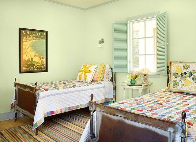 Best Michigan Lake House Beach Style Bedroom By Alan With Pictures