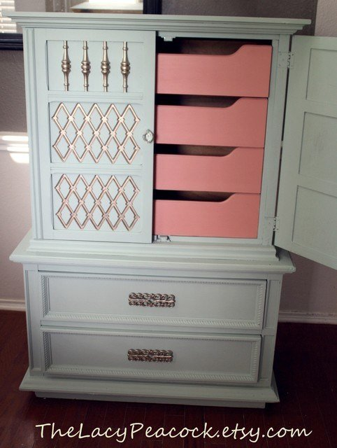 Best Refurbished Vintage Furniture Eclectic With Pictures