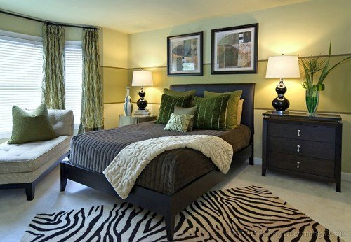 Best Eye For Design Olive Green Interiors With Pictures