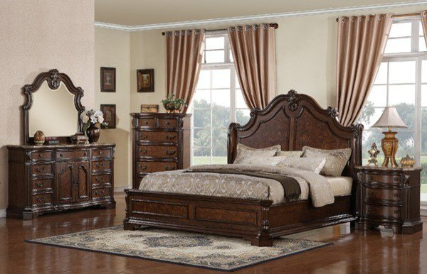 Best Samuel Lawrence Monticello Bedroom Set 8264 Room Traditional Bedroom Furniture Sets With Pictures