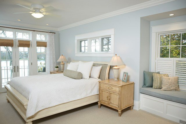 Best Michigan Lake House Traditional Bedroom Other Metro With Pictures