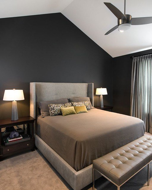 Best Bedrooms Contemporary Bedroom Detroit By Terry With Pictures