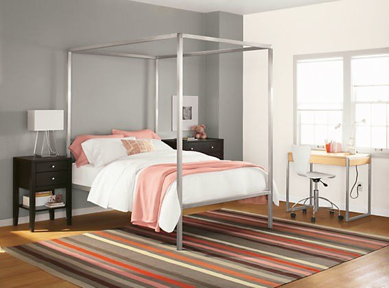 Best Portica Canopy Bed In Stainless Steel By R B With Pictures