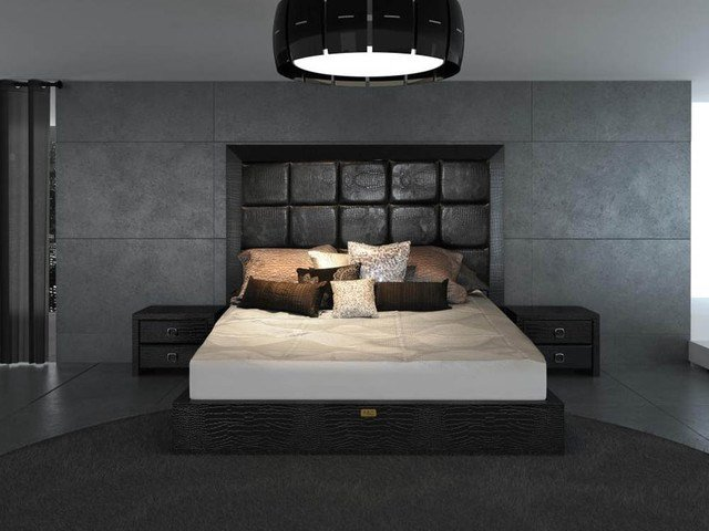 Best Unique Leather Contemporary Platform Bedroom Sets Modern Bedroom Furniture Sets Miami By With Pictures