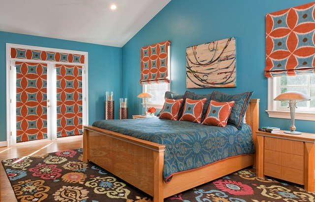 Best Bethesda Home Celebrating Vibrant Color And Pattern With Pictures