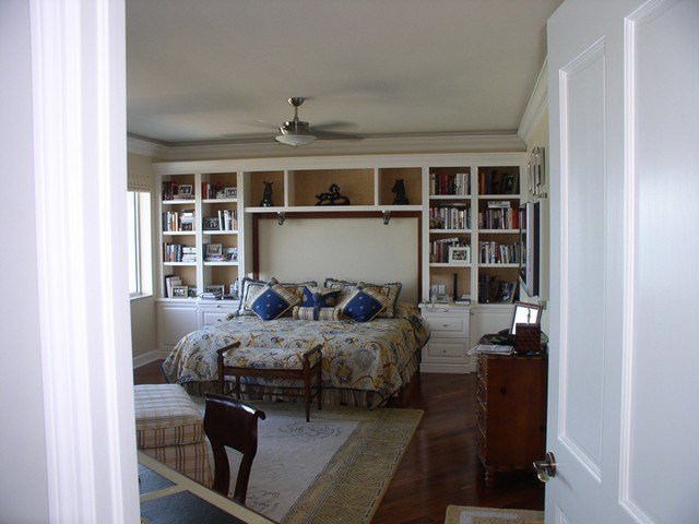 Best Custom Wall Units Contemporary Bedroom Other Metro By Spears Construction Services With Pictures