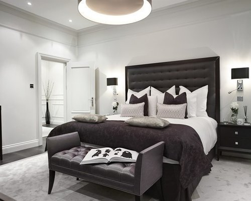 Best Black And Grey Bedroom Home Design Ideas Pictures With Pictures
