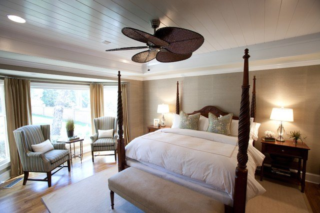 Best British Colonial Master Suite Traditional Bedroom With Pictures