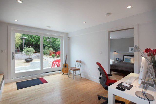 Best Garage Master Suite Modern Bedroom San Francisco By Bmf Construction With Pictures
