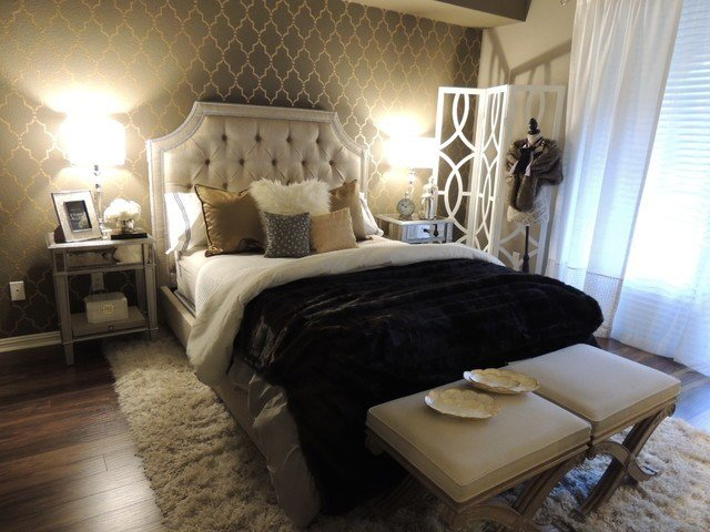 Best Hollywood Regency Bedroom With Pictures