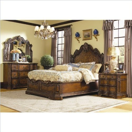 Best H**K*R Furniture Beladora 4 Piece Bedroom Set With Pictures