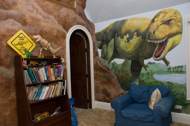 Best Kids Dinosaur Theme Contemporary Kids Chicago By Renaissance Painted Finishes With Pictures