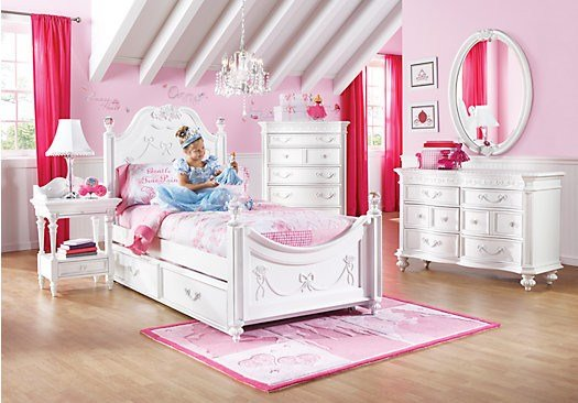Best Disney Princess White Twin Poster Bedroom Contemporary With Pictures