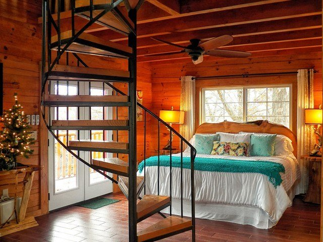 Best Branson Cedars Resort Treehouse Rustic Bedroom Grand With Pictures