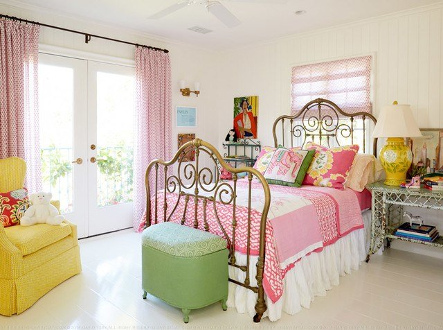 Best Beach Cottage Shabby Chic Style Bedroom Los Angeles With Pictures