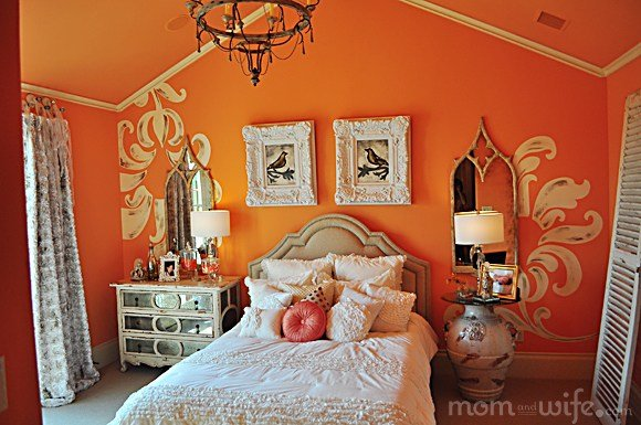 Best Home Decorating Ideas Peach Bedroom Design With Pictures