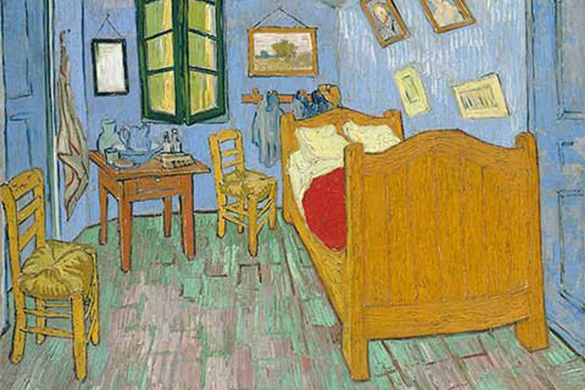 Best Art Institute Of Chicago Rents Replica Of Van Gogh Painting On Airbnb Nbc News With Pictures