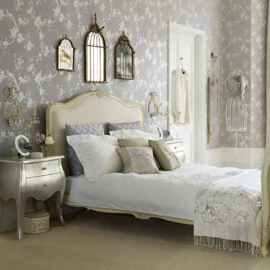 Best White Mattress Design With Grey Wall Painting Unit With Floral Wallpaper Decoration Combined With Pictures