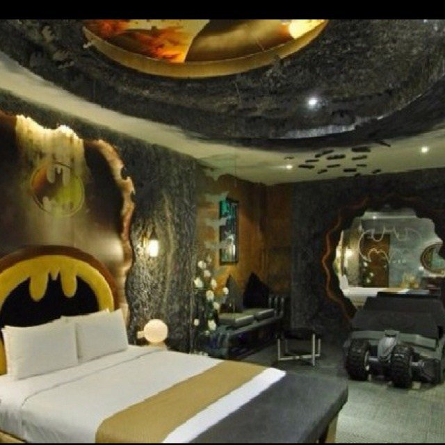 Best Batcave Bedroom The Ultimate Man Cave House Pinterest With Pictures