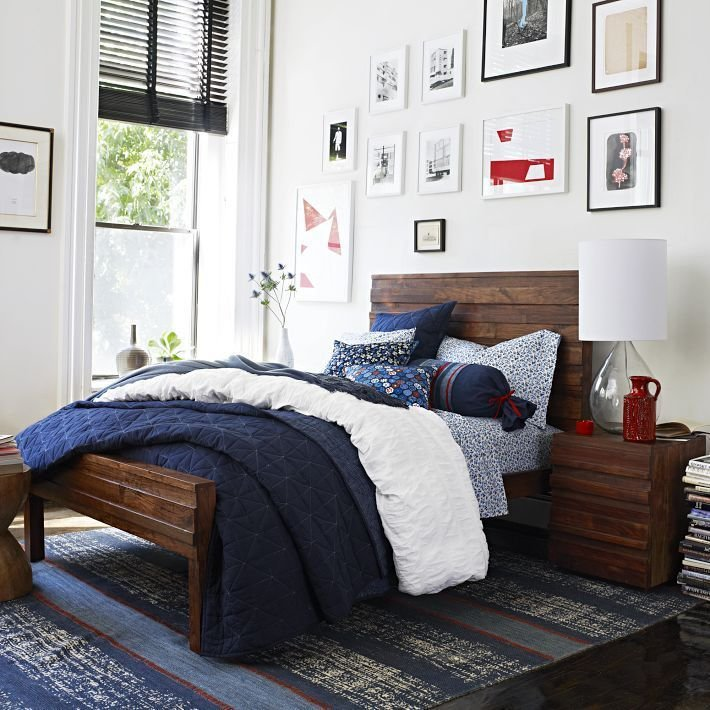 Best West Elm Navy Bedding Decorating Ideas Pinterest With Pictures