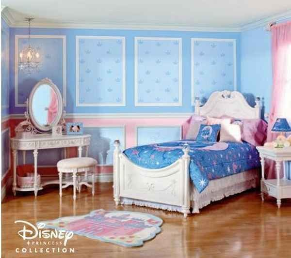 Best Princess Cinderella Theme Disney Bedroom With Pictures