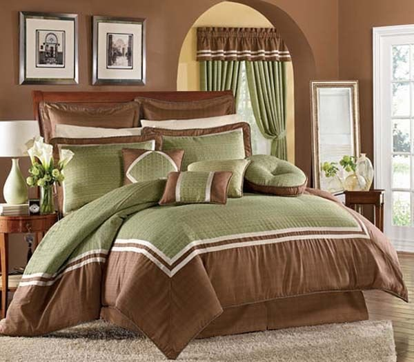 Best Green And Brown Bedroom Decorating Ideas For The House With Pictures