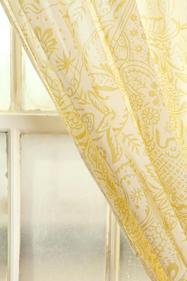 Best Yellow Curtains Guest Room For The Home Pinterest With Pictures