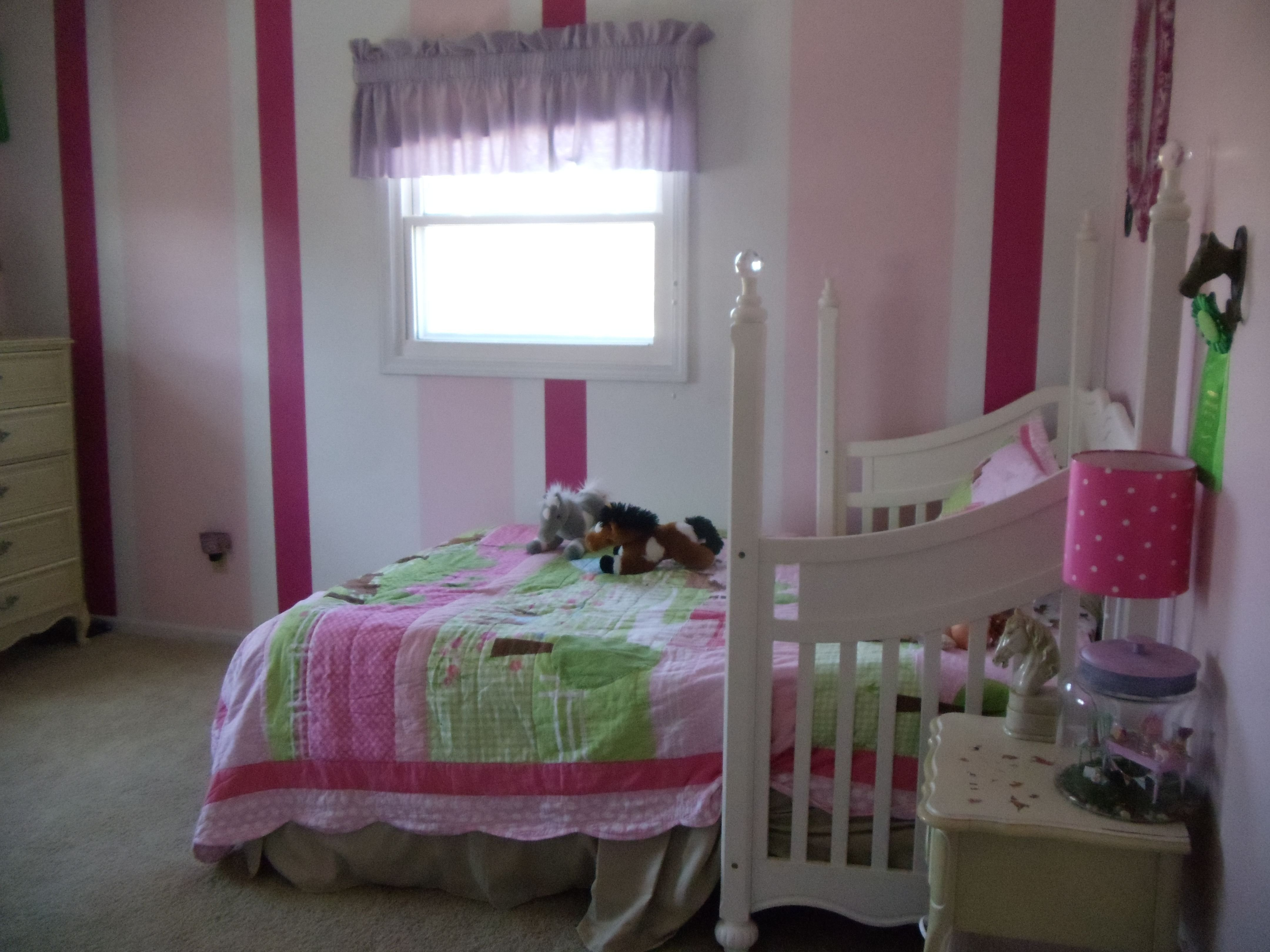 Best My Daughter S Pink Horse Themed Bedroom My Photos My With Pictures