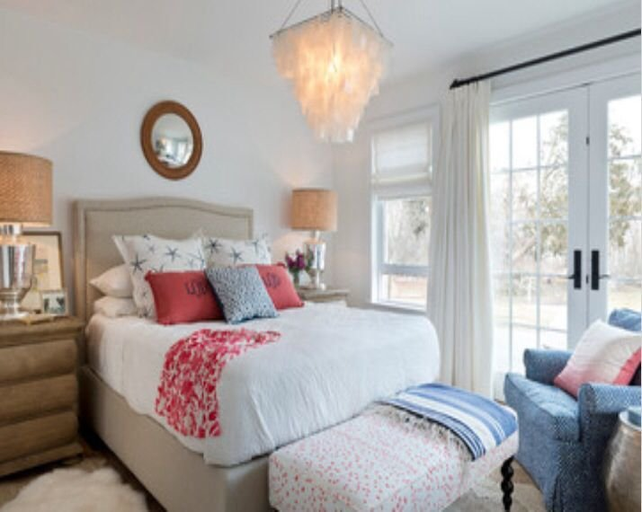 Best Preppy Coral And Blue Bedroom Alligator Pinterest With Pictures