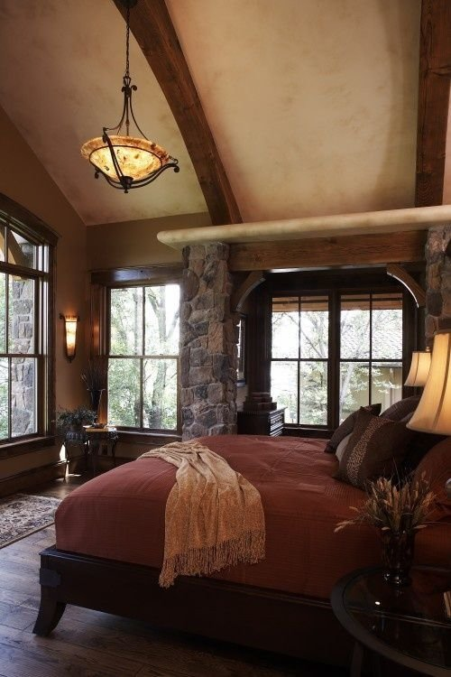 Best Warm Rustic Romantic Bedroom Favorite Places Spaces With Pictures