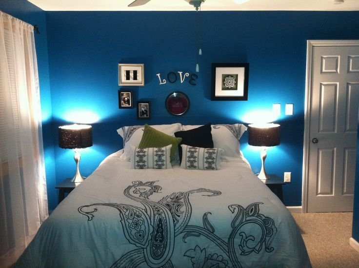 Best Peacock Blue Bedroom Bedroom Design Pinterest With Pictures