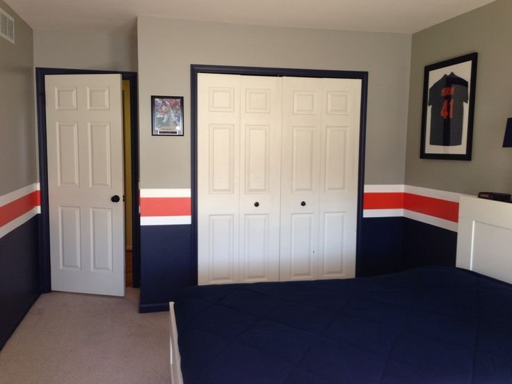 Best Detroit Tigers Baseball Room Boys Bedroom Pinterest With Pictures