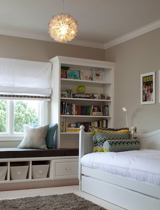 Best Window Seat Storage In Kids Bedrooms For The Home With Pictures