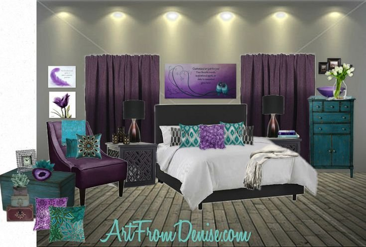 Best Teal Gray And Purple Bedroom Ideas Bedroom Ideas Pinterest With Pictures