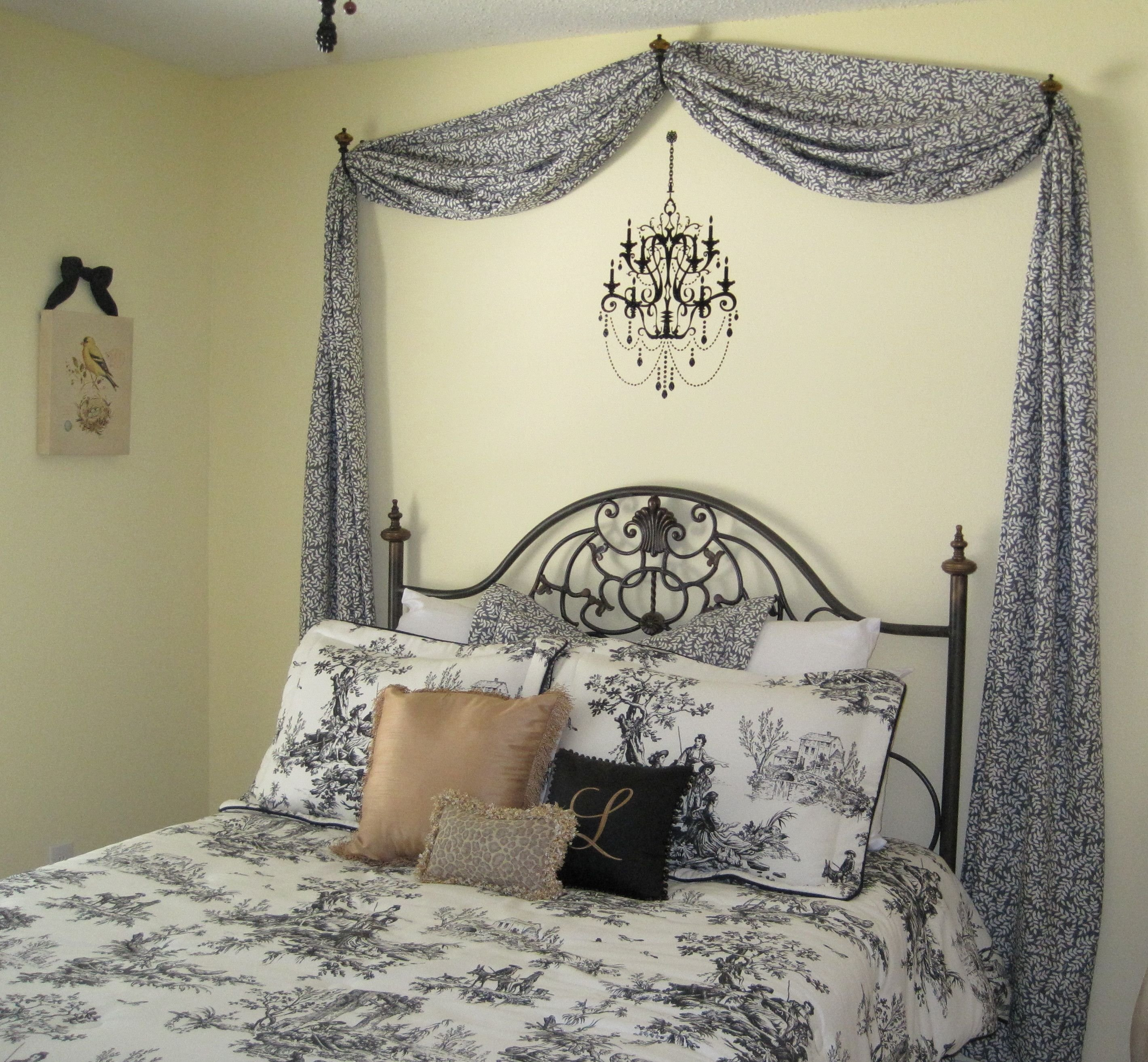 Best Add A Swag And A Chandelier Decal Belle A T**N Girl With Pictures
