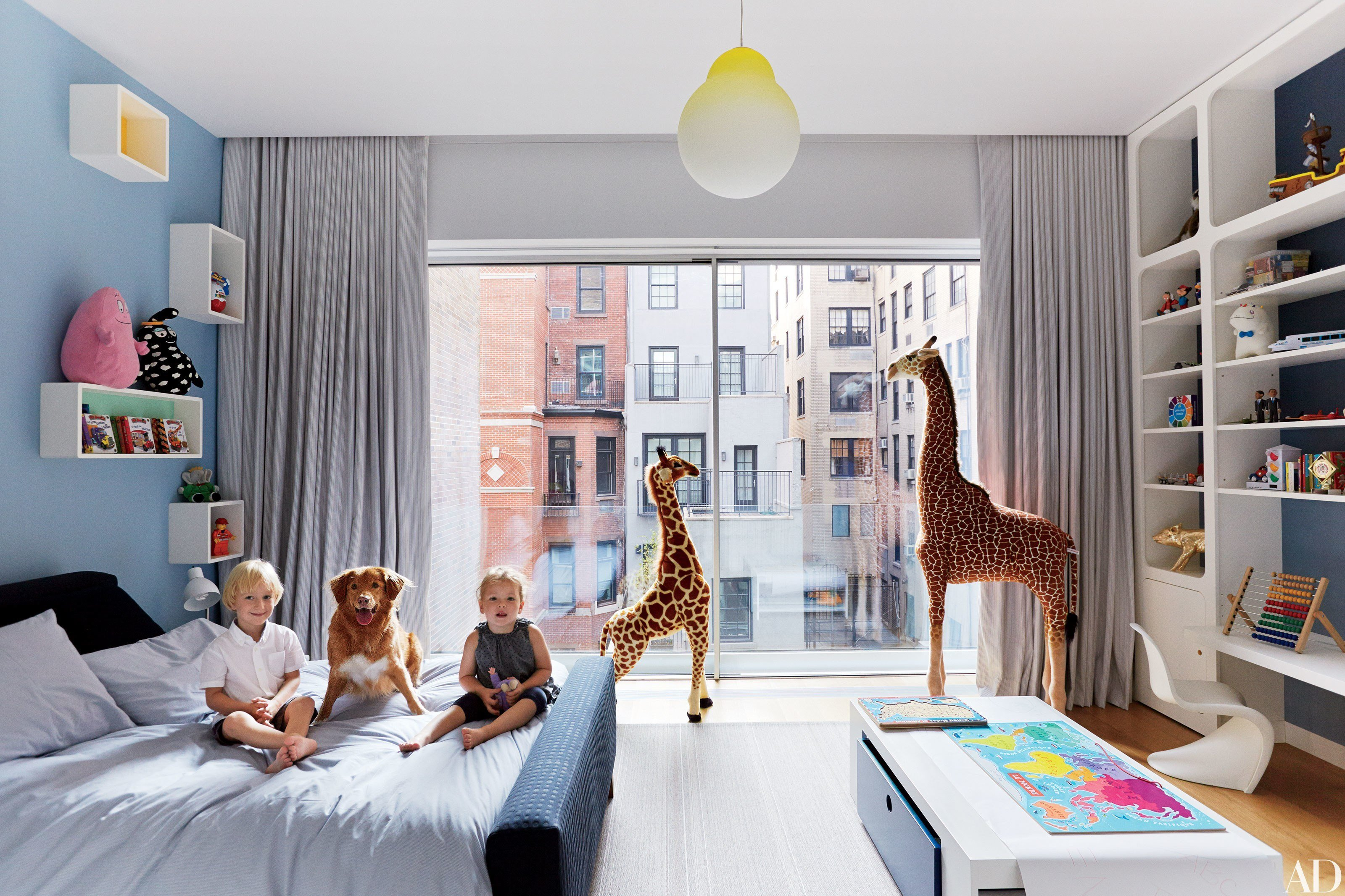 Best 55 Stylish Children's Bedrooms And Nurseries Photos With Pictures