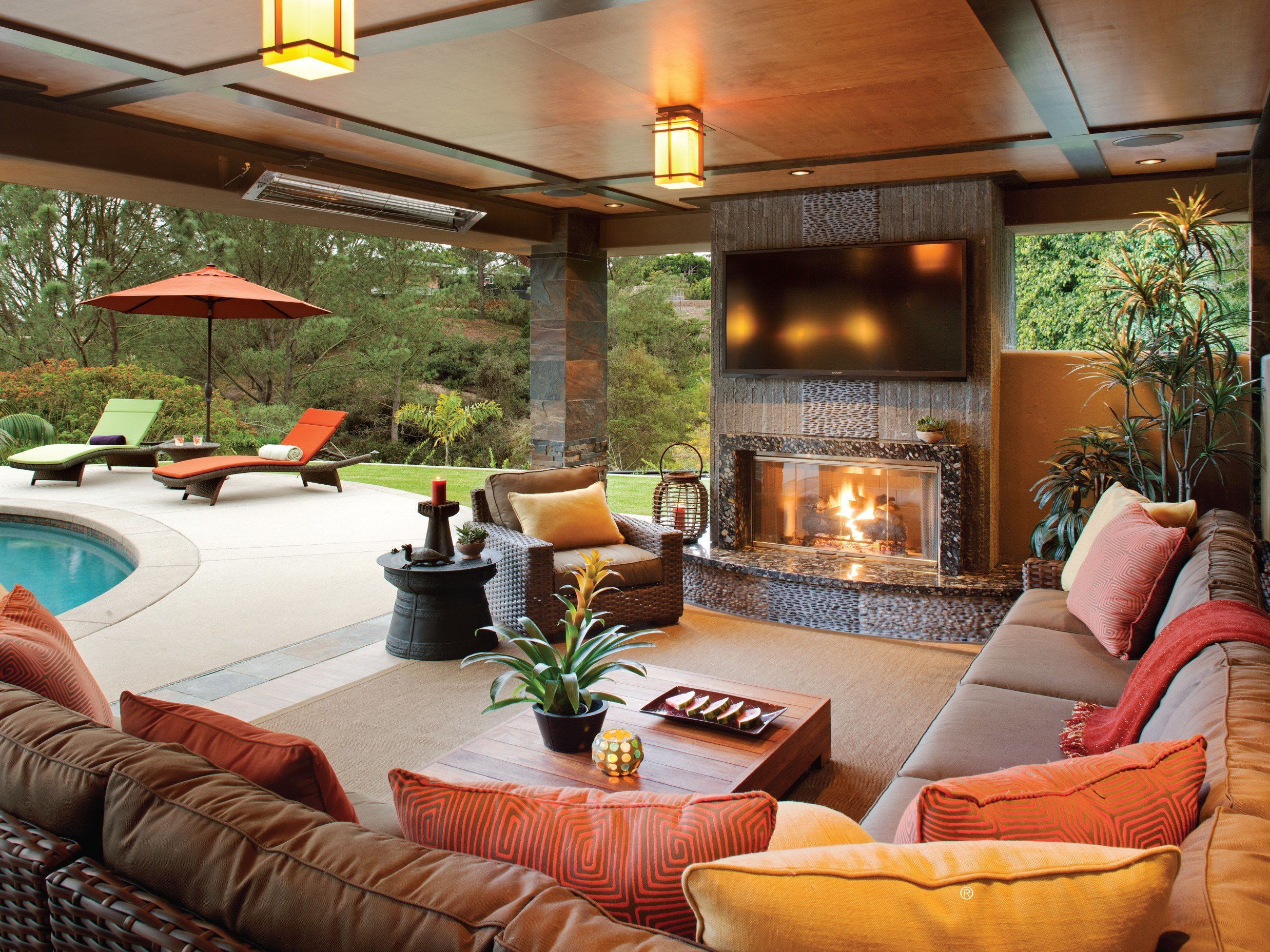Best Special Section The Outdoor Room Design Ideas Hearth With Pictures